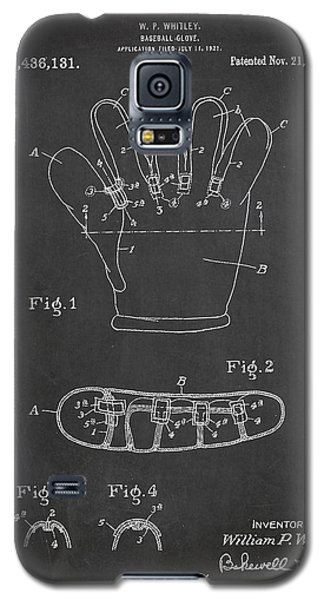 Baseball Glove Patent Drawing From 1922 Galaxy S5 Case by Aged Pixel