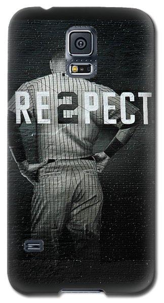 Celebrities Galaxy S5 Cases - Baseball Galaxy S5 Case by Jewels Blake Hamrick