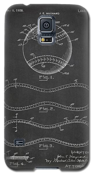 Baseball Patent Drawing From 1927 Galaxy S5 Case by Aged Pixel