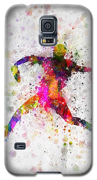 Baseball Player - Pitcher Galaxy S5 Case by Aged Pixel