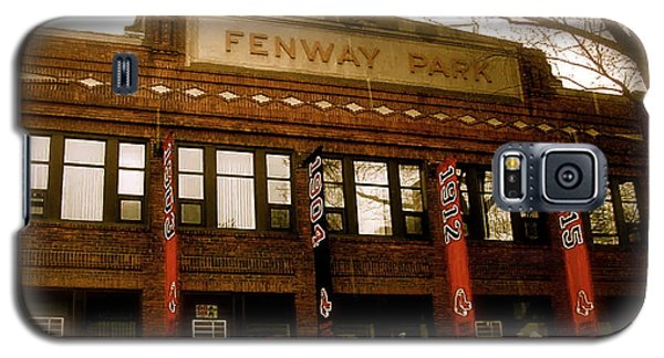 Baseballs Classic  V Bostons Fenway Park Galaxy S5 Case by Iconic Images Art Gallery David Pucciarelli