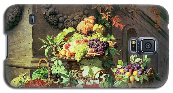 Baskets Of Summer Fruits Galaxy S5 Case by William Hammer