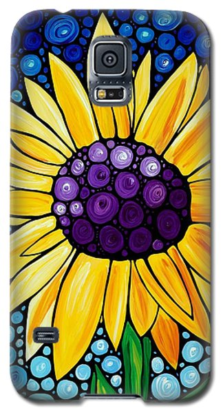 Plant Galaxy S5 Cases - Basking In The Glory Galaxy S5 Case by Sharon Cummings