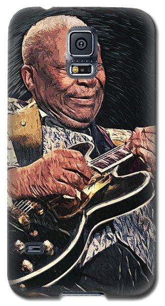 B.b. King II Galaxy S5 Case by Taylan Apukovska