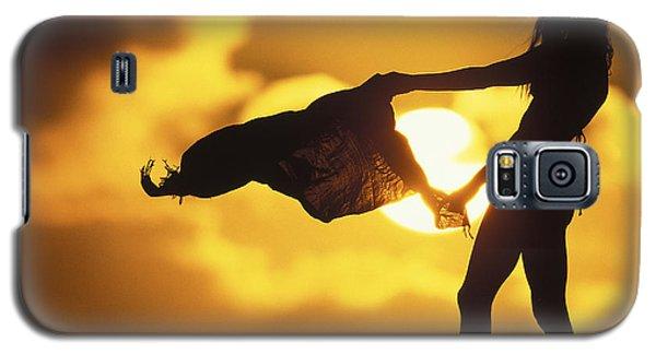 Galaxy S5 Cases - Beach Girl Galaxy S5 Case by Sean Davey