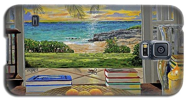 Beach View Galaxy S5 Case by Carey Chen