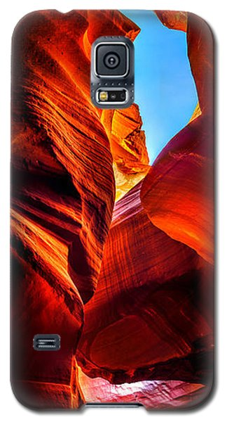 Galaxy S5 Cases - Beauty Within Galaxy S5 Case by Az Jackson