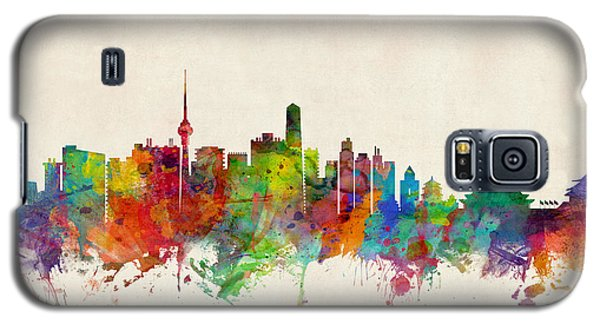 Recently Sold -  - Buy Galaxy S5 Cases - Beijing China Skyline Galaxy S5 Case by Michael Tompsett