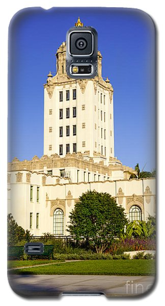 Beverly Hills Police Station Galaxy S5 Case by Paul Velgos