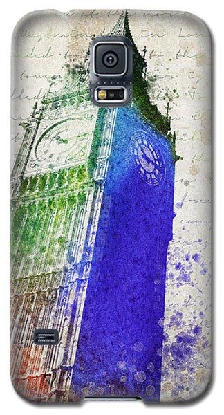 Big Ben Galaxy S5 Case by Aged Pixel