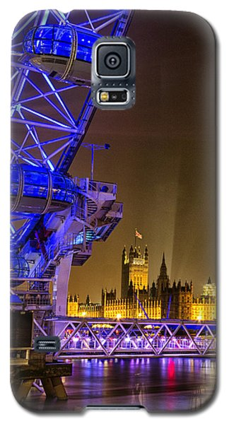 Big Ben And The London Eye Galaxy S5 Case by Ian Hufton