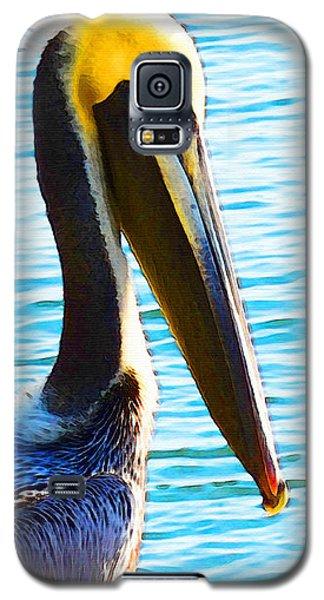 Big Bill - Pelican Art By Sharon Cummings Galaxy S5 Case by Sharon Cummings