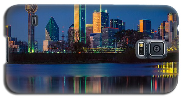 Big D Reflection Galaxy S5 Case by Inge Johnsson