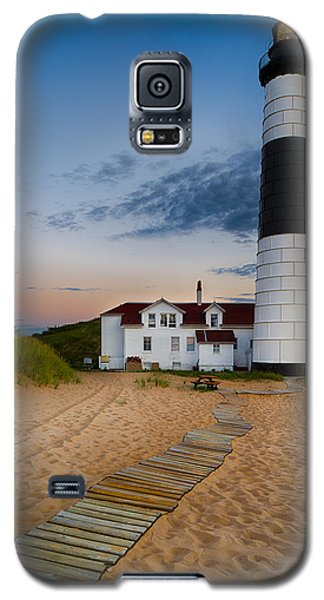 Summer Galaxy S5 Cases - Big Sable Point Lighthouse Galaxy S5 Case by Sebastian Musial