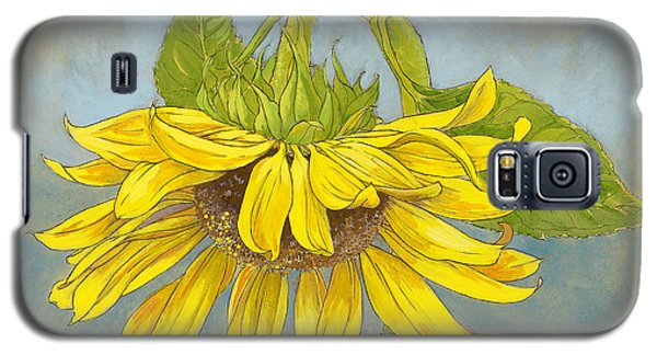 Big Sunflower Galaxy S5 Case by Tracie Thompson