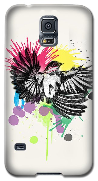 Bird Galaxy S5 Case by Mark Ashkenazi