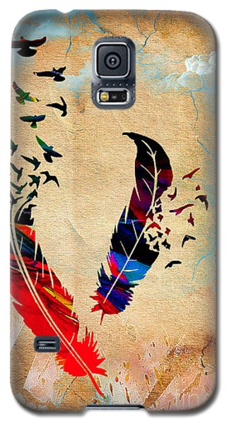 Birds Of A Feather Galaxy S5 Case by Marvin Blaine