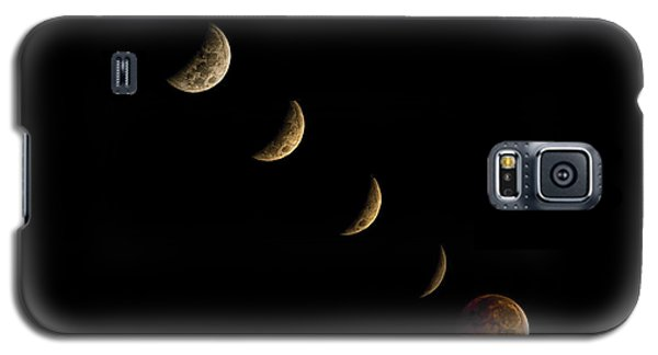 Blood Moon Galaxy S5 Case by James Dean