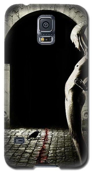 Science Fiction Galaxy S5 Cases - Bloody monday Galaxy S5 Case by Johan Lilja