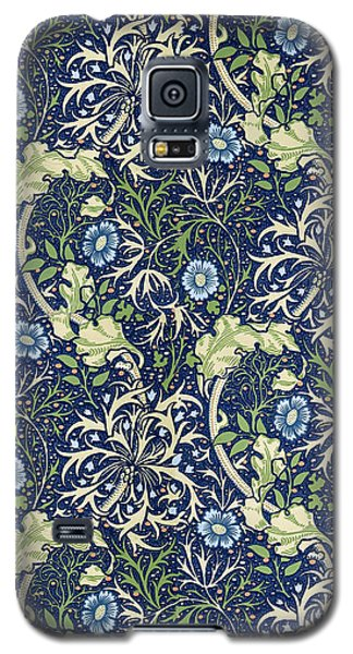 Blue Daisies Design Galaxy S5 Case by William Morris