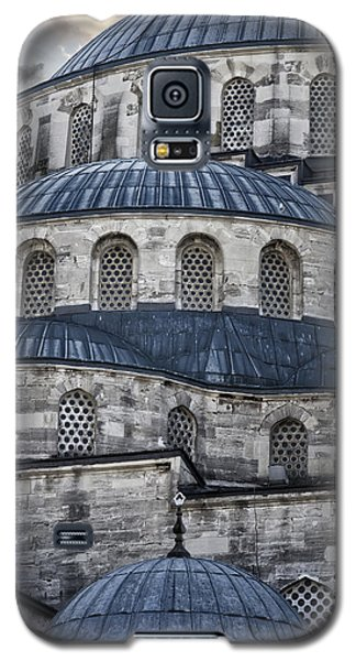 Blue Dawn Blue Mosque Galaxy S5 Case by Joan Carroll