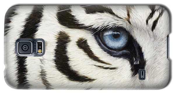 Blue Eye Galaxy S5 Case by Lucie Bilodeau