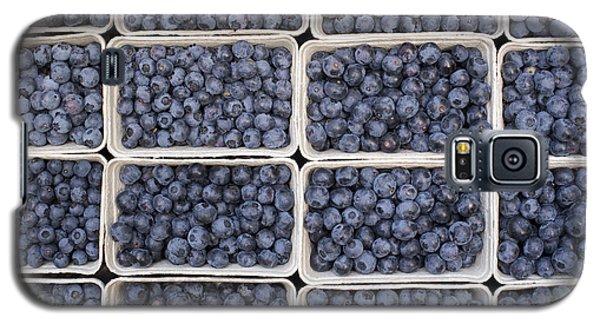 Blueberries Galaxy S5 Case by Tim Gainey