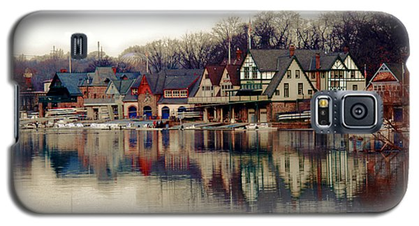 Boathouse Row Philadelphia Galaxy S5 Case by Tom Gari Gallery-Three-Photography