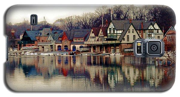 Popular Galaxy S5 Cases - BoatHouse Row Philadelphia Galaxy S5 Case by Tom Gari Gallery-Three-Photography