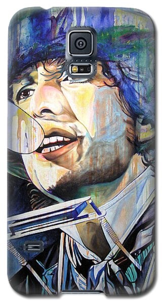 Bob Dylan Tangled Up In Blue Galaxy S5 Case by Joshua Morton
