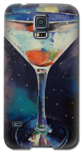 Bombay Sapphire Martini Galaxy S5 Case by Michael Creese