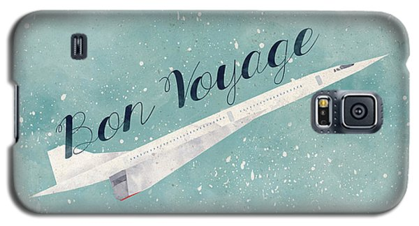 Bon Voyage Galaxy S5 Case by Randoms Print