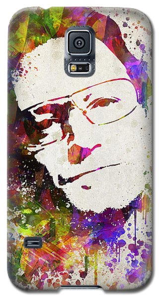 Bono In Color Galaxy S5 Case by Aged Pixel