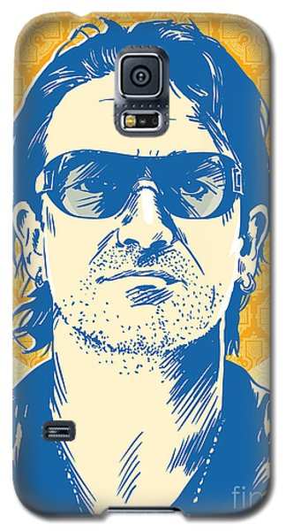 Bono Pop Art Galaxy S5 Case by Jim Zahniser