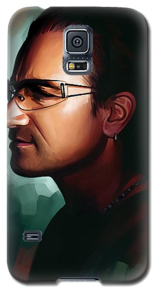Bono U2 Artwork 1 Galaxy S5 Case by Sheraz A