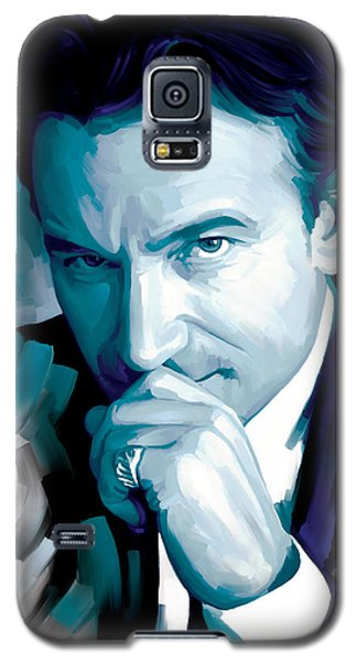 Bono U2 Artwork 4 Galaxy S5 Case by Sheraz A