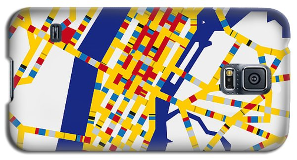 Boogie Woogie New York Galaxy S5 Case by Chungkong Art