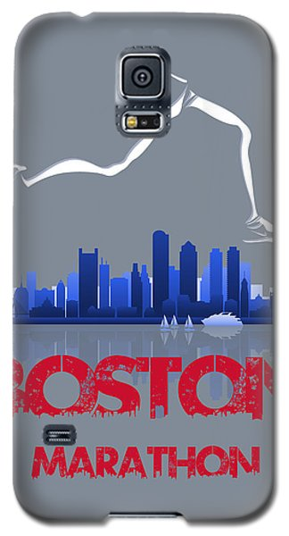 Boston Marathon3 Galaxy S5 Case by Joe Hamilton