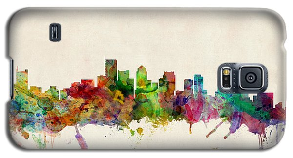 Boston Skyline Galaxy S5 Case by Michael Tompsett