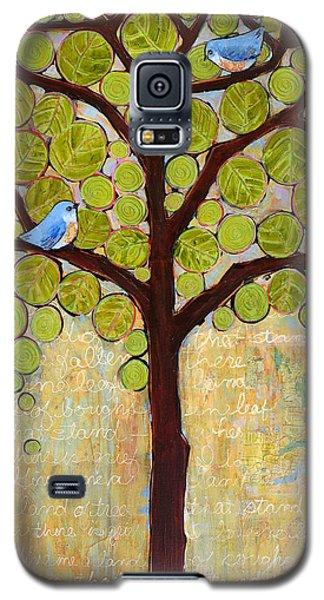 Boughs In Leaf Tree Galaxy S5 Case by Blenda Studio