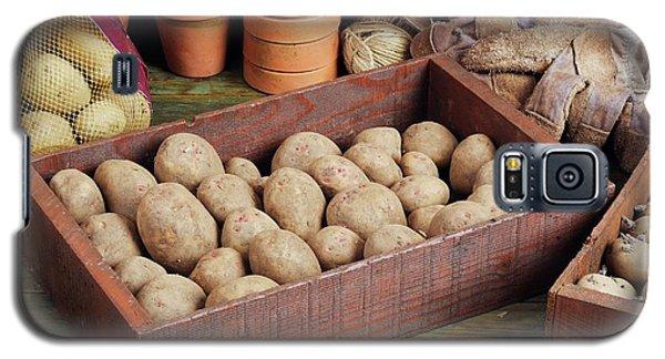 Box Of Potatoes Galaxy S5 Case by Geoff Kidd