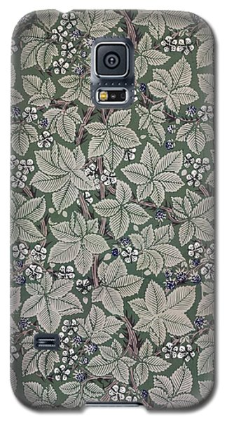 Tapestries - Textiles Galaxy S5 Cases - Bramble wallpaper design Galaxy S5 Case by Kate Faulkner