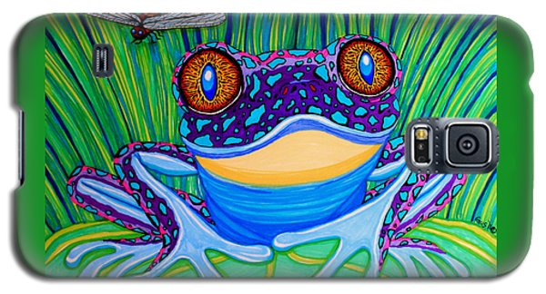 Bright Eyed Frog Galaxy S5 Case by Nick Gustafson