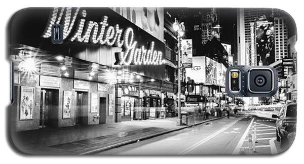 Broadway Theater - Night - New York City Galaxy S5 Case by Vivienne Gucwa