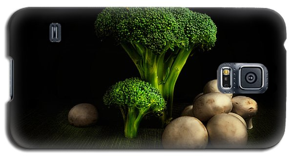 Broccoli Crowns And Mushrooms Galaxy S5 Case by Tom Mc Nemar