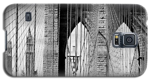 Brooklyn Bridge New York City Usa Galaxy S5 Case by Sabine Jacobs
