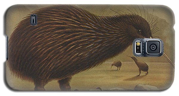 Brown Kiwi Galaxy S5 Case by J G Keulemans