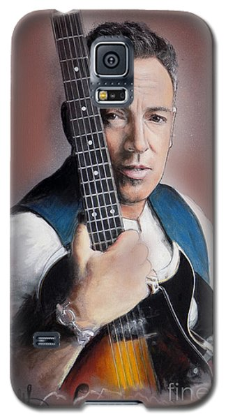 Bruce Springsteen Galaxy S5 Case by Melanie D
