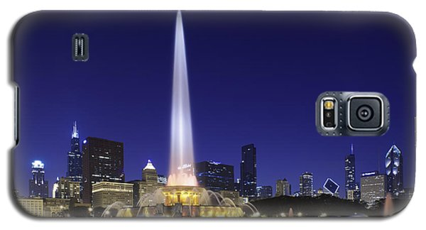 Buckingham Fountain Galaxy S5 Case by Sebastian Musial