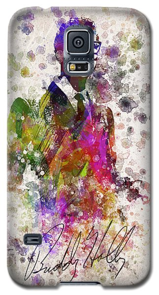 Buddy Holly In Color Galaxy S5 Case by Aged Pixel